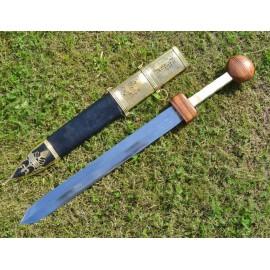 GLADIUS SWORD WITH DECORATED SCABBARD
