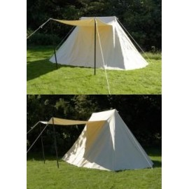 Saxon Tent , 3 x 5 m, cotton, with inner walls
