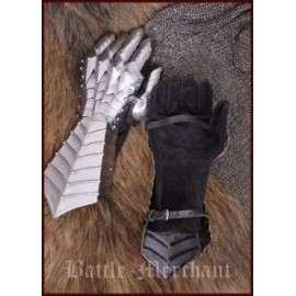 Medieval Gauntlets, riveted and stitched