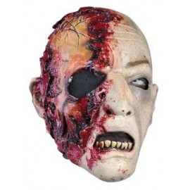 Zombie Mask Skin Color with Blood, LARP Accessoires
