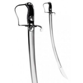 1796 Light Cavalry Saber with leather scabbard