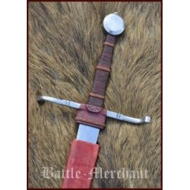 15th Century Hand and a half Sword with scabbard, practical blun