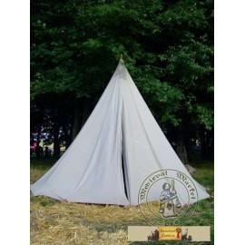 Cone tent (4m) - linen