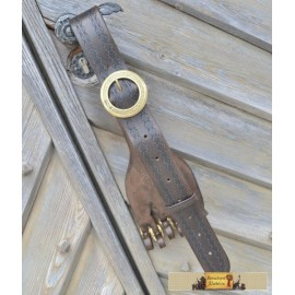 LEATHER HANGER FOR RAPIERS