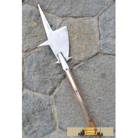 Halberd, replica of a two-handed pole weapon II