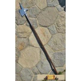 HALBERD V, replica of a pole weapon