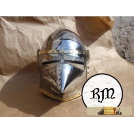 Helmet inspired on the original from Churburg (1390)