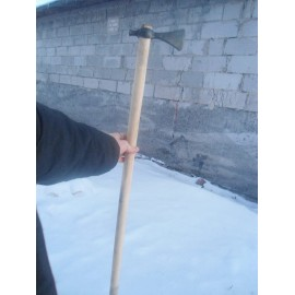 Slavic pickaxe handforged.