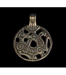 Dragon Pendant from Gnezdowo, bronze finding replica