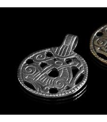 Dragon Pendant from Gnezdowo, silver finding replica