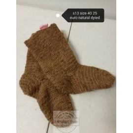 Naalbinding Socks Oslo stitch size 38-39 in stock