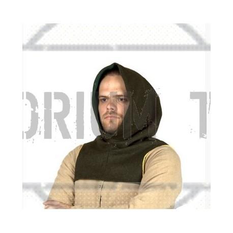 Medieval Hood type 4- - wool