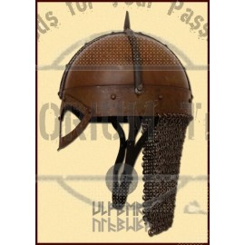 The Gjermundbu Helmet with riveted Aventail, Size L