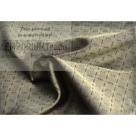Hand woven silk fabric from Birka (grave no 944), brown and gold
