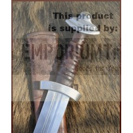 11c. Viking Sword with leather scabbard, practical blunt, SK-B