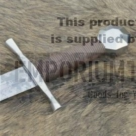 13c Crusader Sword w/ scabbard, octagonal pommel, regular