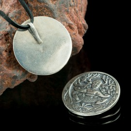 Gundestrup Cauldron, silver pendant