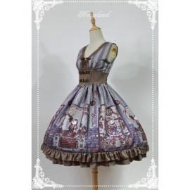 Neverland Steampunk Cat Lolita Jumper Dress