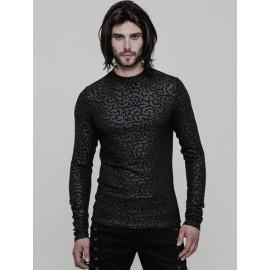 Black Gothic Punk Suit for Men