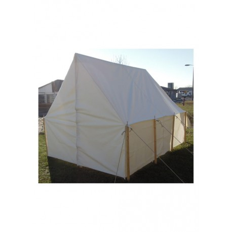 Historical Army Tent, Wall Tent, 4 50 x 3 00 m