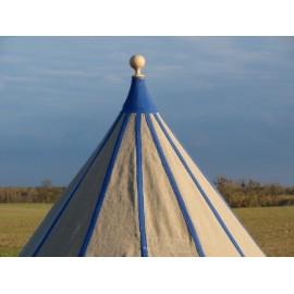 Conical Tent - 3,5 m - linen