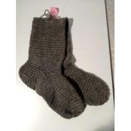 Naalbinding Socks Oslo stitch
