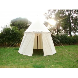 Umbrella Tent, 3,5 m, height 3,5 m, cotton