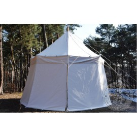 Umbrella Tent with one pole (fi ~ 4 m) - cotton