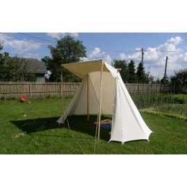 Saxon / Norman Geteld Tent 2 x 4 m - COTTON
