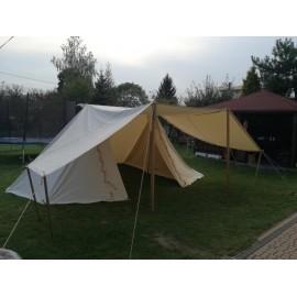 Merchant GETELD Tent 3 x 6m with winshields - cotton