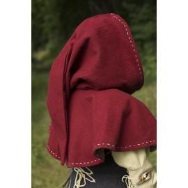 Hood - Medieval - Red