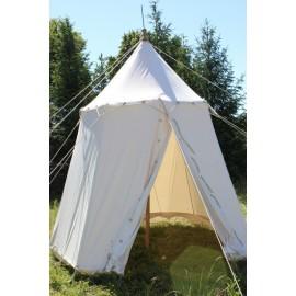 Umbrella Medieval Tent - fi 6 m - linen
