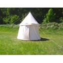 Umbrella Tent - 4m diameter - cotton