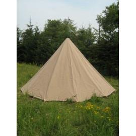Low Conical Tent - 2 x 4 m - cotton