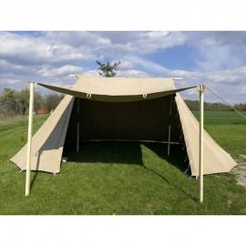 Saxon / Norman 2 x 4 m - linen