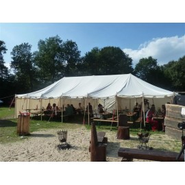 Knight Tent 6 x 12m - cotton - 40 people !!!