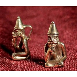 FREY, Viking God, pendant, bronze