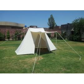 Saxon Tent 2 x 4 m cotton