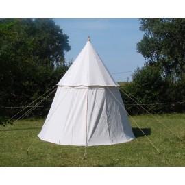Medieval Pavilion diameter 3,5 m high 3,5 m - cotton