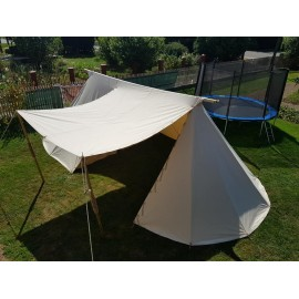 Merchant Geteld Tent - 4 x 9m - COTTON