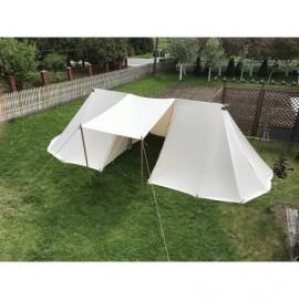 Geteld Longtent - 4 x 8 m - cotton
