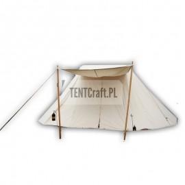 Saxon Tent 4x6 m cotton