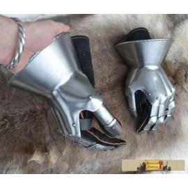 Medieval Hourglass Finger Gauntlets
