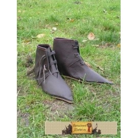 Medieval Shoes c. 1375 - 1400