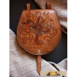 Jelling style belt purse