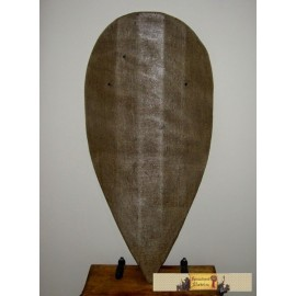 Almond shaped shield