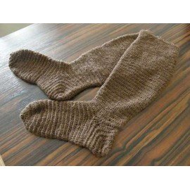 Naalbinding Long Socks
