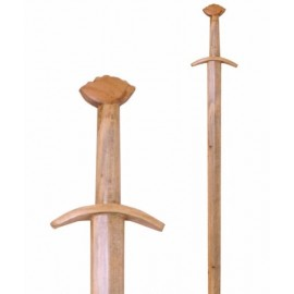 Wooden training sword